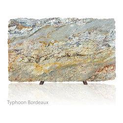 AG&M Granite - Typhoon Bordeaux