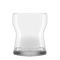 Oxford Porcelains - Karim Rashid-Crystal Cup On the Rocks - Your cup runneth over with the discovery of these hand-crafted crystal glasses. On the rocks or neat, savor each swallow with this stylish, Karim Rashid-designed cup, ideal for many types of libations.