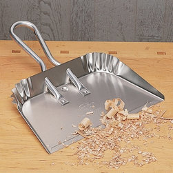 Large Aluminum Dust Pan - Still my favorite, this generous aluminum dust pan has a rugged, industrial appeal.