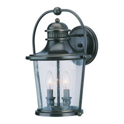 """Troy Lighting - Troy Lighting B2032 Guild Hall 2 Light Outdoor Wall Sconce - Troy Lighting B2032 Traditional / Classic One Light 10.75"""" Tall Incandescent Wall Lantern from the Guild Hall CollectionBeing a Leader in an Industry requires many attributes. Troy Lighting's passion for quality, design, value and service lead the way. Their Team of Lighting Professionals are serious about producing awesome lighting and having a strong, well-run company.  Hand-Forged Iron, Hand Applied Finishes, Glass and Shades that compliment the style are primary ingredients in Troy Lighting products. They take great pride in their engineering and inspection standards that  ensure a quality product. Troy Lighting is committed to providing quality high styled products, at reasonable prices, backed with the highest standard of service.Features:"""