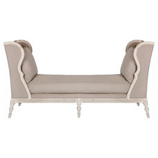 Eclectic Day Beds And Chaises by McEntire Design Group