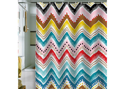 eclectic shower curtains by Khristiana Howell