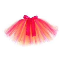 Just Pretend Kids - Just Pretend The Annie Collection Tutu in Fuchsia - Twirl, dance and leap in this super-fun, fluffy tutu. If your kids love dressing up, this tutu is soft and comfortable with no itchy underskirts or fabrics. Layers of shimmery fuchsia tulle are accented by a beautiful satin bow.