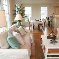 Tropical Family Room by Just Perfect! Home Staging + More