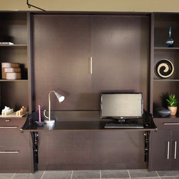 Get Organized for the New Year with a Murphy DeskBed - © Murphy DeskBeds ~ 2012 Carolyn Himes Imagery