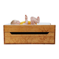 Changing Trunk - After your babies turn into kids, what happens to all that furniture that you spent thousands of dollars on? Usually, the younger cousins get to luck out on free furniture. Not anymore. This low lying changing table also serves as a toy chest, reading bench, and pretty much anything else that involves sitting or storing.