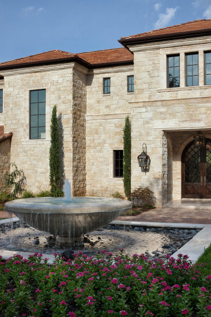Traditional Exterior by JAUREGUI Architecture Interiors Construction