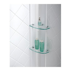 "DreamLine - DreamLine DL-6191L-01 QWALL-5 Shower Base & Backwalls - DreamLine SlimLine 34"" by 60"" Single Threshold Shower Base Left Hand Drain and QWALL-5 Shower Backwall Kit"
