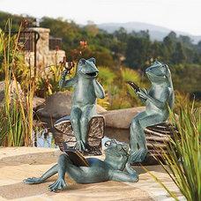 Eclectic Garden Sculptures by FRONTGATE