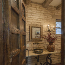 Traditional Bathroom by Linda Robinson Design Associates