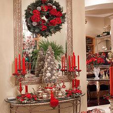 Mediterranean Dining Room by Spallina Interiors