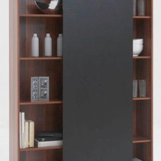 contemporary bookcases cabinets and computer armoires by furnitureinfashion.net