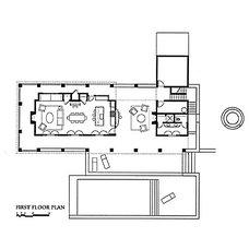 Floor Plan by Trachtenberg Architects