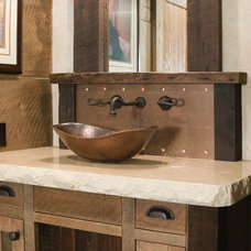 Rustic Bathroom by High Camp Home