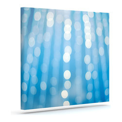 """Kess InHouse - Bree Madden """"Under the Sea Sparkles"""" Wrapped Art Canvas (8"""" x 10"""") - Bring your outdoor patio to life with this artistic outdoor canvas wrap featuring gorgeous artwork by KESS InHouse. These canvases are not only easy to hang and remove but also are the perfect addition to your patio collection. These canvases are stretched around a wooden frame and are built to withstand the elements and still look artistically fabulous. Decorating your patio and walls with these prints will add the splash of art and color that is needed to bring your patio collection together! With so many size options and artwork to choose from, there is no way to go wrong with these KESS Canvas Wraps!"""