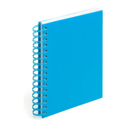 Spiral Notebook, Pool Blue, Medium - Spiraling into control has never been so easy.