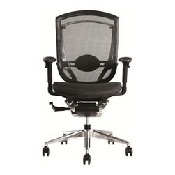 Fine Mod Imports - Ergo Fit Adjustable Mesh Office Chair - Features: