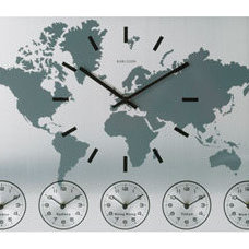 Modern Wall Clocks by Red Candy