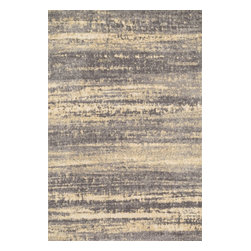 "Loloi Rugs - Loloi Rugs Discover Collection- Grey / Gold, 5' x 7'-6"" - Prized for its ribbed texture and incredibly soft microfiber polyester, the Discover Collection balances contemporarydesign with amazing comfort. The patterns enjoy an abstract modern art feel, adorned with a color palette of cool grays,beiges, and taupes for added versatility. Power loomed in China of 100% polyester for durability, color fastness, andstain resistance."