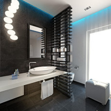 Contemporary Rendering by Bathroom By Design