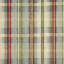 Green, Blue And Red, Plaid Chenille Upholstery Grade Fabric By The Yard - Chenille fabrics combine comfort, style and durability making this material an excellent choice for upholstery.