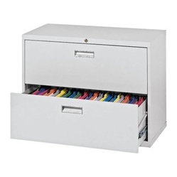 Sandusky Lee 600 Series 36 Inch 2 Drawer Lateral File - The traditionally styled 600 Series 36 ...