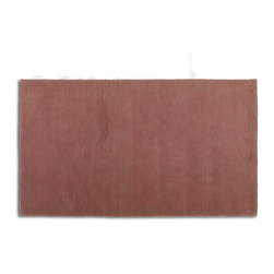 Uttermost - Uttermost Devoe 8 x 10 Rug - Red 73061-8 - Hand Loomed Rust Red And Brown Wools In A Cut And Looped Pile.
