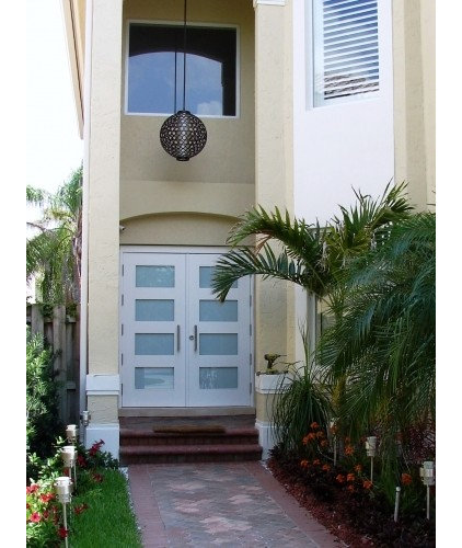Contemporary Front Doors by DecoDesignCenter.com
