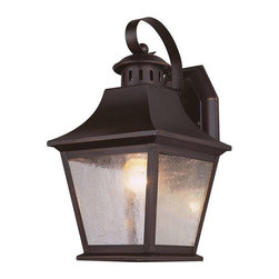 Trans Globe Lighting - Trans Globe Lighting PL-4871 ROB Outdoor Wall Light In Rubbed Oil Bronze - Part Number: PL-4871 ROB