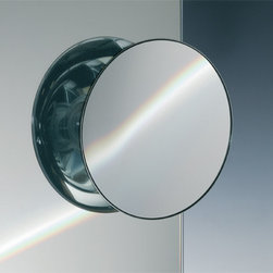 Windisch - Suction Pad One Face Chrome 3x or 5x Magnifying Mirror - One face magnifying mirror. Three suction cups on the back. This Mirror is ONLY able to mount to glass surfaces. They will not hold up on tile, drywall, etc.