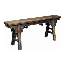 "EuroLux Home - New Bench Seat 51"" Rustic Peasant Country - Product Details"
