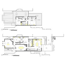 Contemporary Floor Plan by Chr DAUER Architects