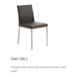 Casa 4 legs Chair Woessner - ASA 4 legs chairs and armchairs (100.1, 100.2, 106.1, 106.2)