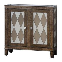 Uttermost - Uttermost Trivelin Wooden Console Cabinet - 24374 - Uttermost Trivelin Wooden Console Cabinet - 24374