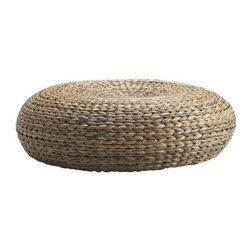 IKEA of Sweden - Alseda Stool - This is a great outdoor (or indoor) seating option. It's perfect for plopping down in the grass with some blankets and pillows and creating a cozy sitting area. I love the ethnic feel to it.