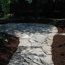 Traditional Landscape by Re-New Builders LLC