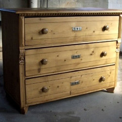 European Pine Dresser With  3 Drawers - Made by http://www.ecustomfinishes.com