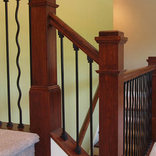 Craftsman Staircase by G&G Custom Homes, Inc