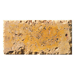 Golden Sienna Chiselled Paver Tile - Golden Sienna Chiselled Paver