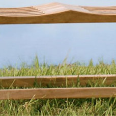 Asian Outdoor Benches by Gardener's Supply Company
