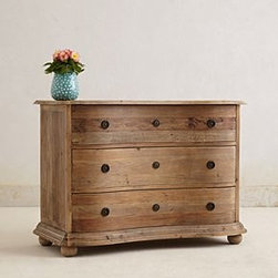 Anthropologie - Handcarved Luca Dresser - *Three drawers