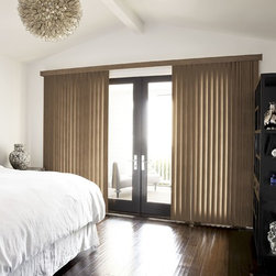 Smith and Noble Classic Vertical Blinds - Our wood blinds combine the beauty of carefully selected, sustainable woods. Starting at $68+