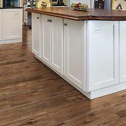 Porcelain wood look tile -