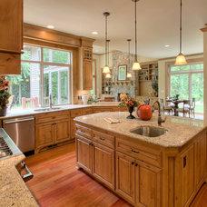 Traditional Kitchen by John F Buchan Homes