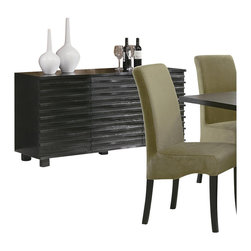 Coaster - Coaster Stanton Contemporary Buffet Server in Black Finish - Coaster - Buffet Tables and Sideboards - 102065