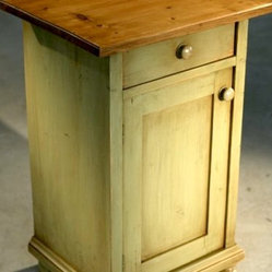 Lightly Distressed Imported European Nightstand