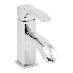 Speakman - Speakman Martin Single Lever Faucet in Polished Chrome - The Speakman Martin Single Lever Bathroom Faucet combines a unique blend of fluently rounded curvatures and distinct, sharp edges to create a beautifully crafted modern faucet. Designed to make a statement, the Martin modern faucet's precisely chiseled corners fit perfectly to current trends in modern bathroom decor. The firm, square frame of the Martin Single Lever Bathroom Faucet is artfully crafted from Speakman's durable, lead free brass. Each Martin luxury bathroom faucet is perfectly engineered to feature a WaterSense approved 1.5 gpm flow rate while still maintaining optimal performance pressure. The Martin single lever faucet includes a pop-up drain, features easy installation and is available in our signature Polished Chrome finish for an effortless integration to existing bathroom fixtures.