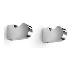 WS Bath Collections - WS Bath Collections Muci Single Hook - Single Hook in Polished Chrome