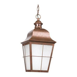 Sea Gull Lighting - Outdoor Pendant - Sea Gull Lighting 69272BLE-44  in Weathered Copper