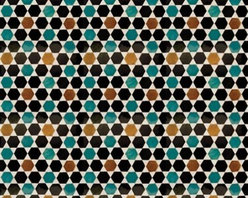 Walls Republic - Goldenrod Hexad Wallpaper M8844 - Seville is a basic honeycomb hexagonal wallpaper mural digitally printed to create a realistic tile aesthetic. In vibrant colours this wallpaper creates a sophisticated, modern, and lush vibe in your home office or bedroom.